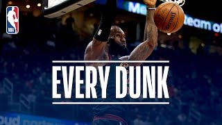 Giannis Antetokounmpo, LeBron James, and Every Dunk From Wednesday Night | December 6, 2017