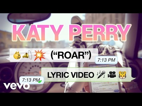 "Katy Perry's New Single, ""roar"""