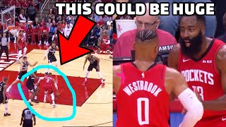 What NOBODY is Noticing About Russell Westbrook & James Harden