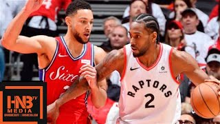 Philadelphia Sixers vs Toronto Raptors - Game 7 - Full Game Highlights | 2019 NBA Playoffs