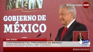 CONFERENCIA MATUTINA DEL PRESIDENTE DE MÉXICO, ANDRÉS MANUEL LÓPEZ OBRADOR MIÉR 11DIC