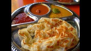 MALAYSIAN STREET FOOD, PENANG GEORGETOWN, STREET FOOD IN MALAYSIA, ROTI CANAI, MALAYSIAN CUISINE