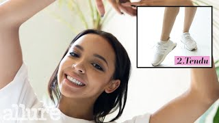 Tinashe's 4 Step Ballet-Inspired Workout Warm-Up Routine   Allure