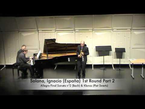 Solana, Ignacio (España) 1st Round Part 2