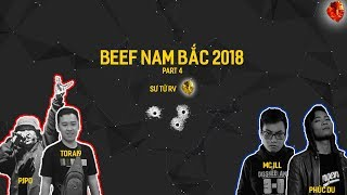 [BEEF NAM BẮC 2018] PJPO x TORAI9 - MC ILL x PHÚC DU | VIDEO LYRICS | Part 4
