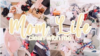 MOM LIFE CLEAN WITH ME 2021 // SPEED CLEANING MOTIVATION