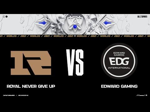 RNG vs. EDG | Worlds Quarterfinals Day 2 | Royal Never Give Up vs. Edward Gaming | Game 2 (2021)