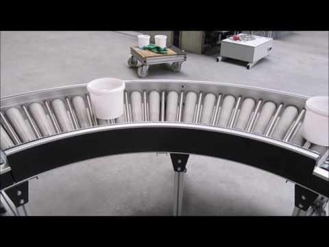 BCK Holland aangedreven rollenbaan / roller drive RD50