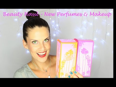 Beauty Haul: Exciting New Beauty Releases (makeup & perfume)