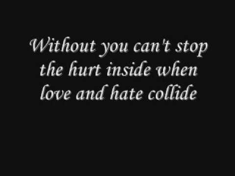 When love and hate collide by def leppard (with lyrics)