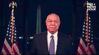 WATCH: Colin Powell's full speech at the 2020 Democratic National Convention | 2020 DNC Night 2