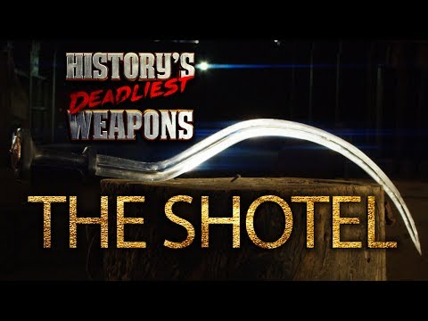 History's Deadliest Weapons - The Shotel | Man At Arms: Art of War
