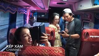 Ns Điền Trung - Nsut Mỹ Hằng đốn tim hành khách bằng bài ca cổ Lý Chim Quyên quá hay !