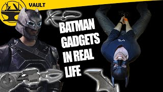 REAL Batman Gadgets! (Hacksmith Vault #2)