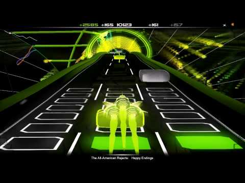 Audiosurf Happy Endings - The All-American Rejects 1080p
