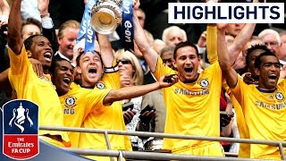 2009 FA Cup Final Highlights - Chelsea 2 - 1 Everton