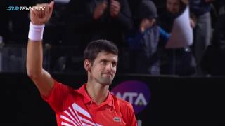 Djokovic vs Del Potro: Incredible Shots & Moments | Rome 2019 Quarter-Final