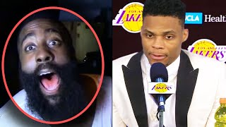 """Russell Westbrook TRADE TO LAKERS! """"JAMES HARDEN BETRAYED ME""""  & ROCKETS SIGN YOUNG STARS!"""
