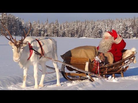 Les meilleurs messages du Père Noël en Laponie aux enfants - Message vidéo Papa Noël en Finlande