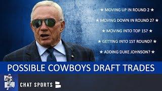 Cowboys Trade Rumors: 7 Trades The Cowboys Could Make During The NFL Draft