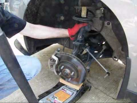 Week 17 Install A Set Of Front Springs To A Nissan Versa