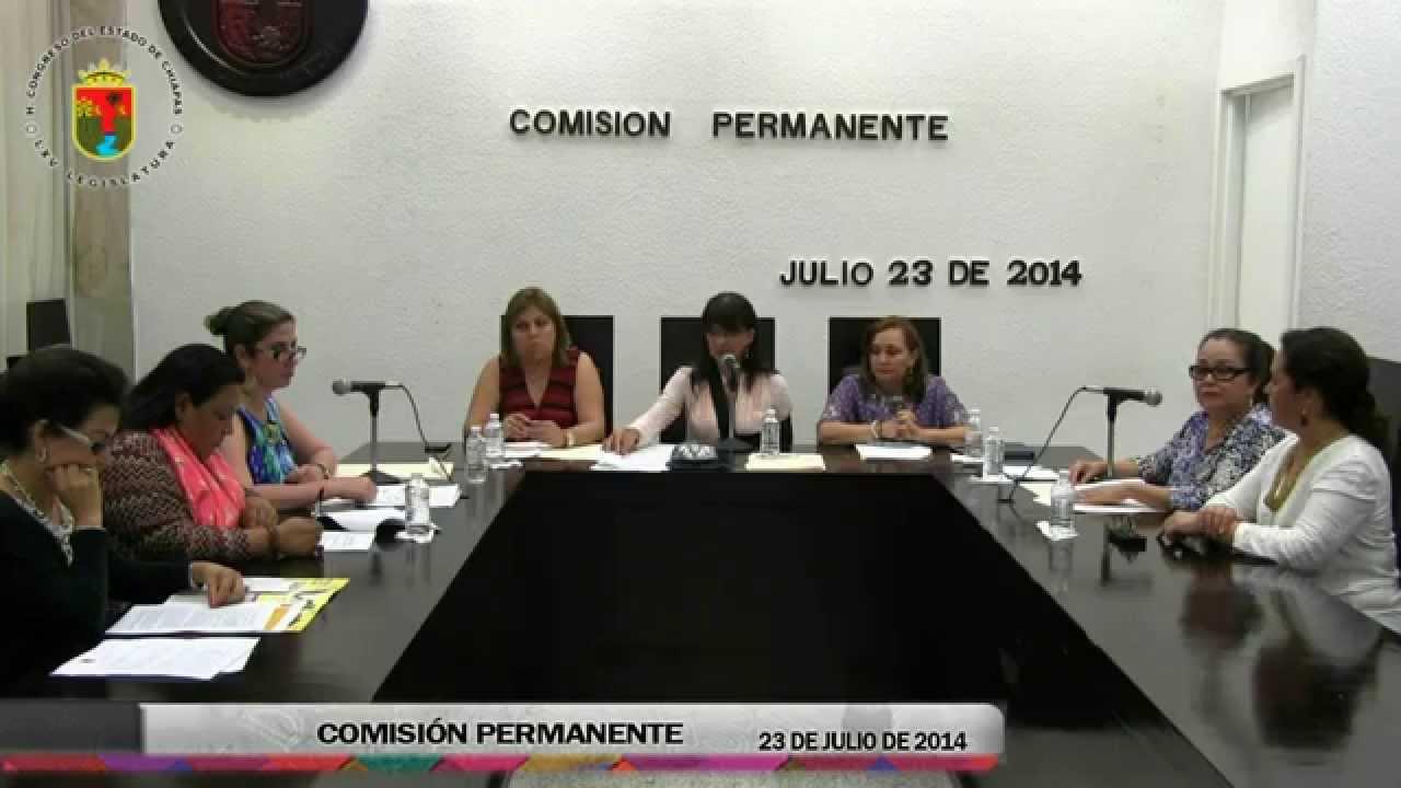Comisión Permanente 23 de Julio de 2014