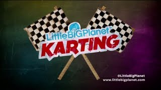 Littlebigplanet karting disponible sur ps3 :  bande-annonce 3