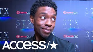 Chadwick Boseman Expertly Swerves Any 'Avengers: Endgame' Talk: 'I'm Dead!' | Access