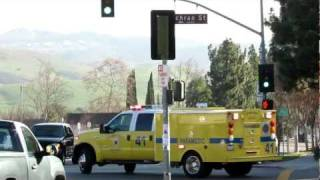 Ventura County Fire Responding in Simi