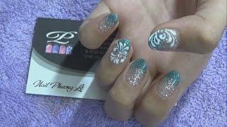 Mẫu nail mới, mẫu móng tay đơn giản mới đẹp nhất, vẽ họa tiết, trang trí nhũ lên móng tay