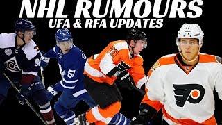 NHL Rumours - Provorov, Konecny, Rantanen, Gardiner + Penguins