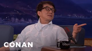 Jackie Chan Wants To Play A Romantic Lead  - CONAN on TBS