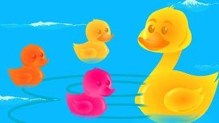 Cinq Petits Canards | Comptines | Kids Video | Preschool Poetry | Nursery Rhyme | Five Little Ducks
