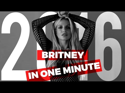 Britney Spears Best Moments of 2016 In One Minute