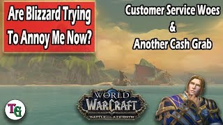 WoW Rant: Customer Service and Cash Grab Promotions