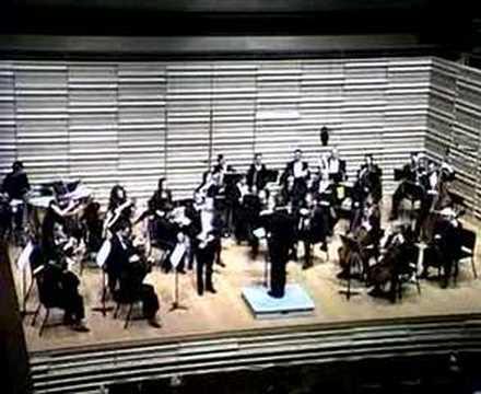 Wildy Zumwalt: Konzert für Alt-Saxophon und Orchester: I
