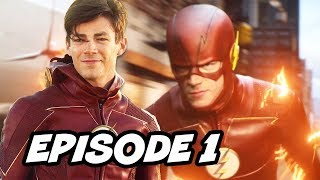 The Flash Season 4 Episode 1 - The Flash Reborn TOP 10 WTF and Comics Easter Eggs