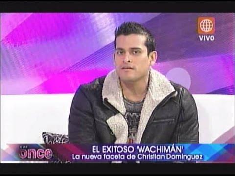 A las Once: Mi amor el wachimán - pte 2 de 2 - 03/10/2012
