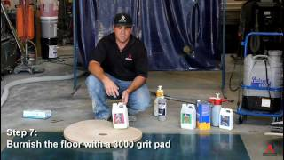 Ameripolish - Acetone Stain Training
