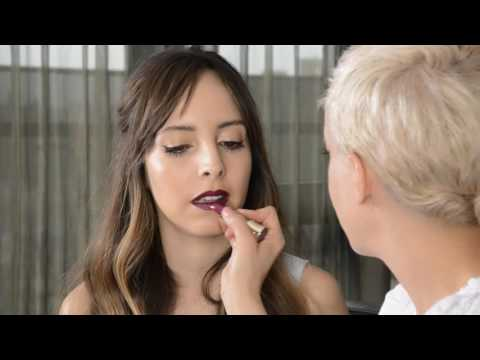Daring Dark Lip and Eyes with Lilliana & Romy