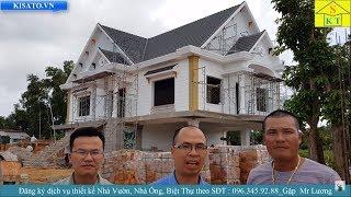 Mẫu Biệt Thự 2 Tầng Mái Thái Đẹp Tại Phú Quốc Kiên Giang