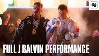 J Balvin's Full Performance At Canelo vs. Yildirim