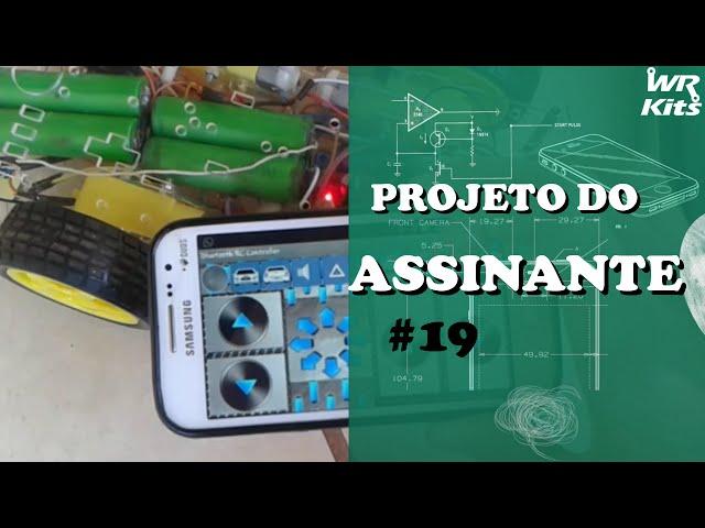 ROBÔ 4X4 CONTROLADO POR BLUETOOTH | Projeto do Assinante #019