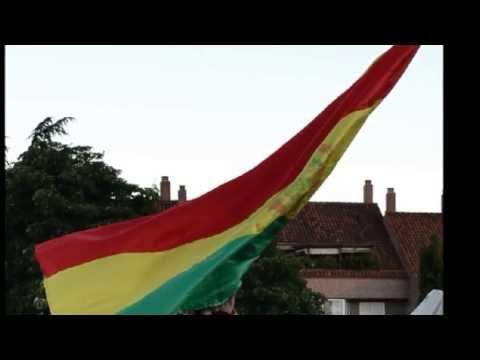 Himno de la Bandera de Bolivia (17 de Agosto) hd