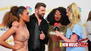 THE VOICE EXCLUSIVE BACKSTAGE COVERAGE - TEAM BLAKE