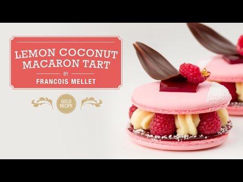 Lemon Coconut Macaron Tart - Qzina