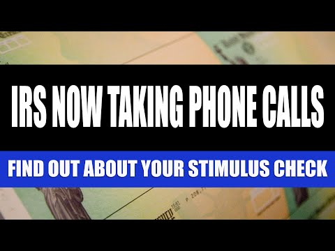 Stimulus Check Update: May 19, 2020 | The IRS is Now Taking Phone Calls About Stimulus Checks