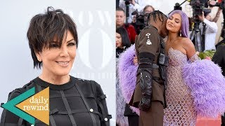 Kris Jenner Tackled By Kim's Security Team! Kylie And Travis Spark Split Rumors | DR