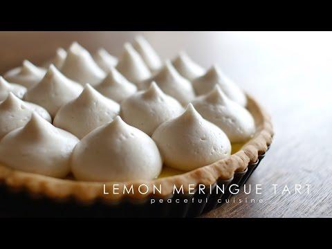 Lemon Meringue Tart (vegan) ☆ レモンメレンゲタルトの作り方
