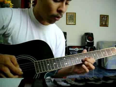 Jesús es mi guía- Los Voceros de Cristo intro en guitarra